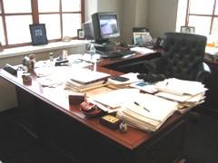 Lori's Desk Before 2