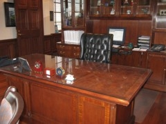 Kevins Desk After